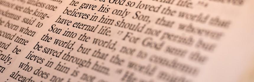 Bible at John