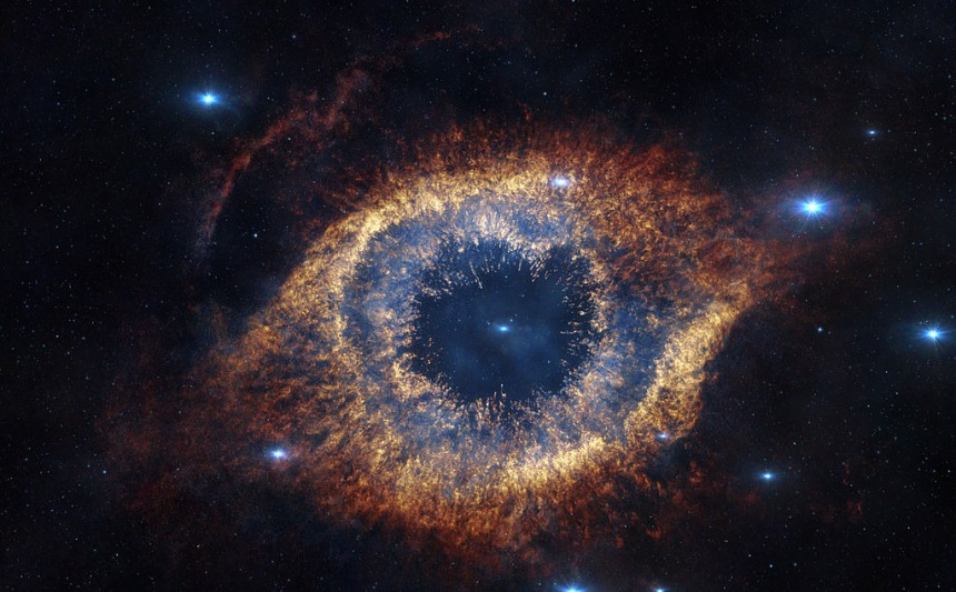 "The ""Eye of God"" Galaxy"