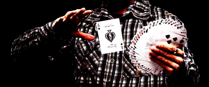 Playing card magic