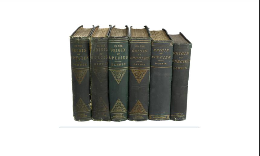 Darwin Origin Book