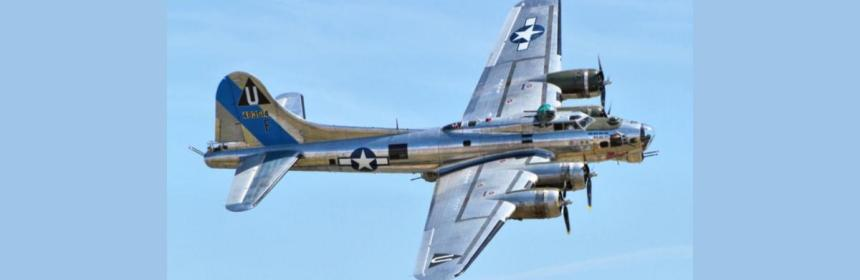 B–17 Flying Fortress bomber