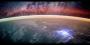 Earth rim and stars