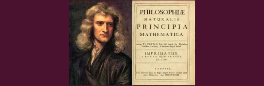 Isaac Newton and Principia Book Cover