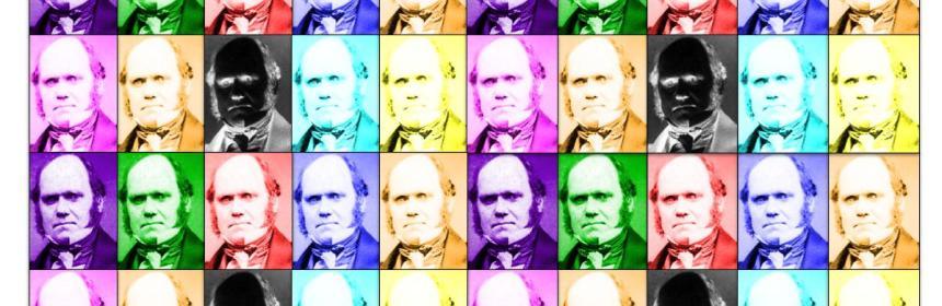 Charles Darwin by Andy Warhol