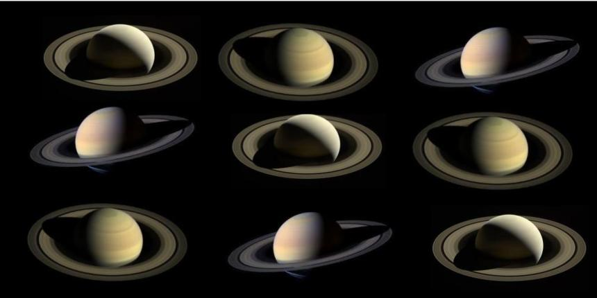 Saturn Rings by Cassini