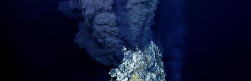 Ocean floor sea vent