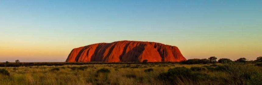Uluru (Ayers Rock) the famous Australian Inselberg