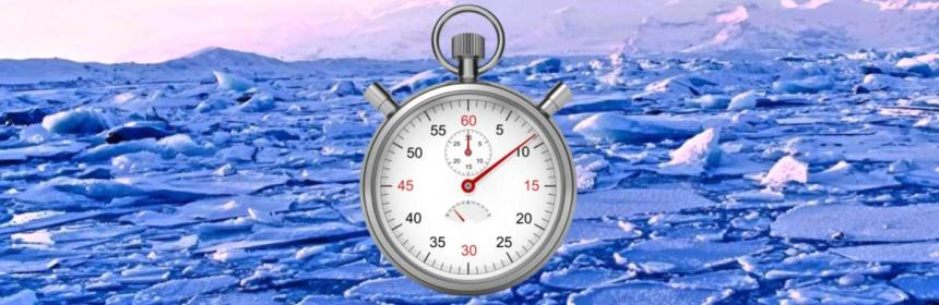 Ice Sheet Stop Watch