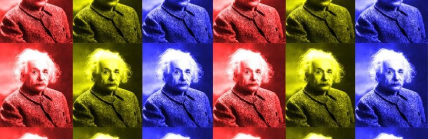 Original Artwork of Albert Einstein