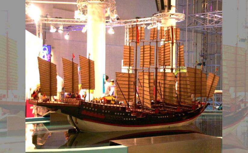 Ancient Chinese Treasure ship