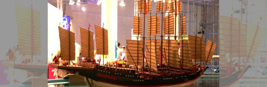 Ancient Chinese Treasure ship