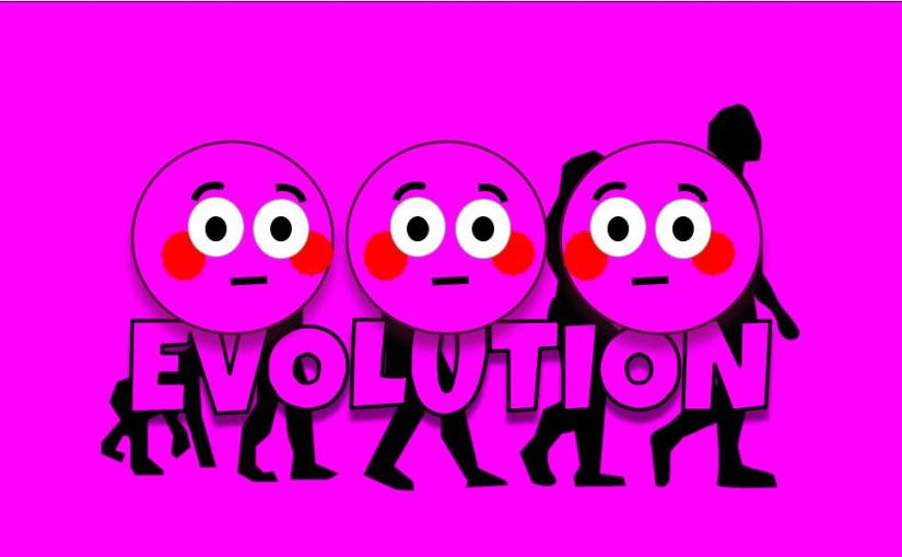 Embarrassed by evolution