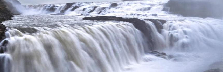 Receding waters