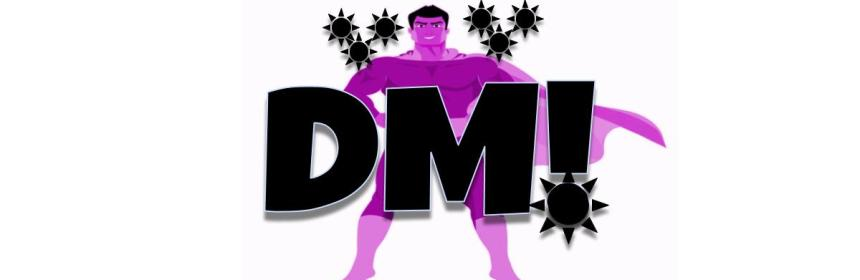 Dark Matter Superhero