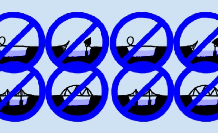 No bridges